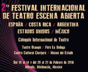 48 Festival Internacional de Teatro Escena Abierta