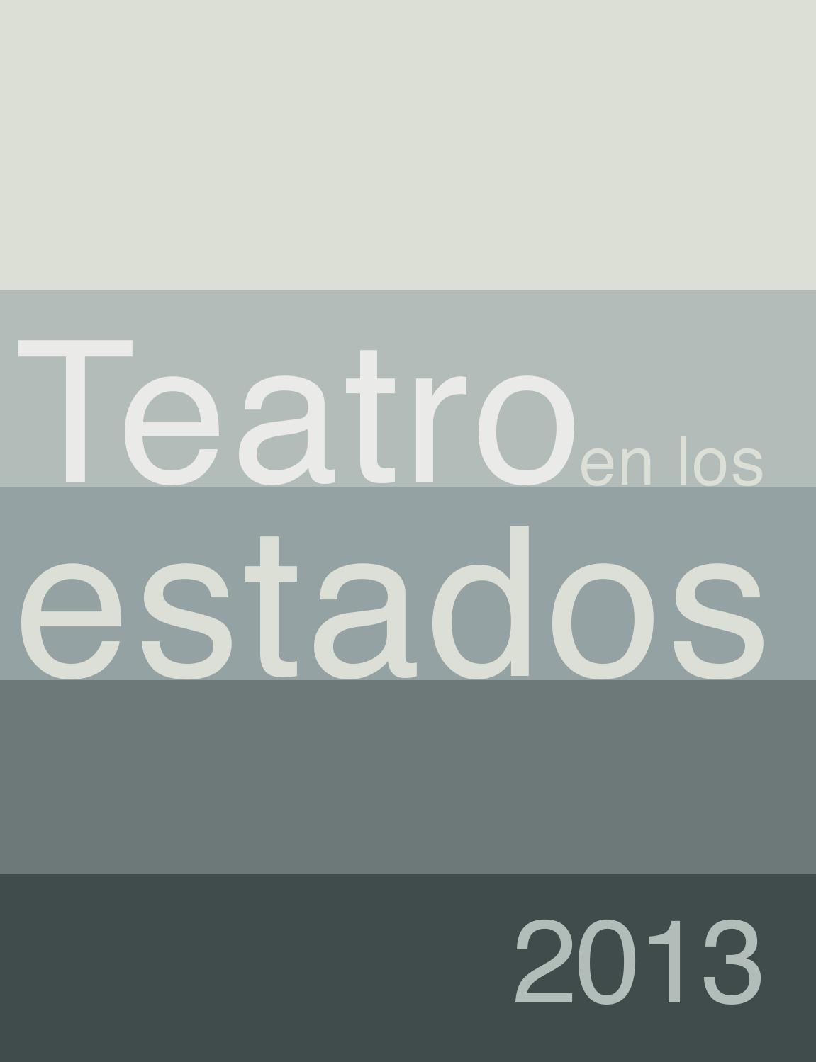 Descarga Teatro en los Estados